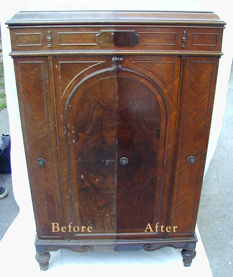 Restore and Protect Wood & Antique Furniture in Just One Step