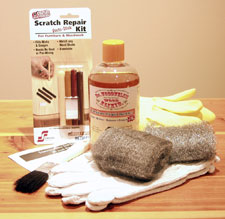Furniture Care & Restoration Kit - Wood Elixir and scratch repair kit for the do-it-yourself handyman or handywoman.